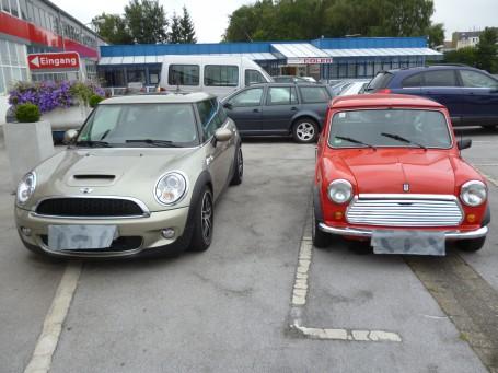 Mini heute / Mini 1988