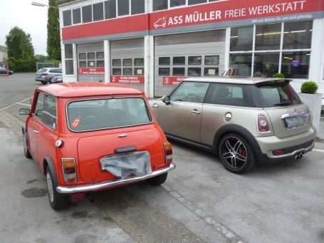 Mini 1988 / Mini heute